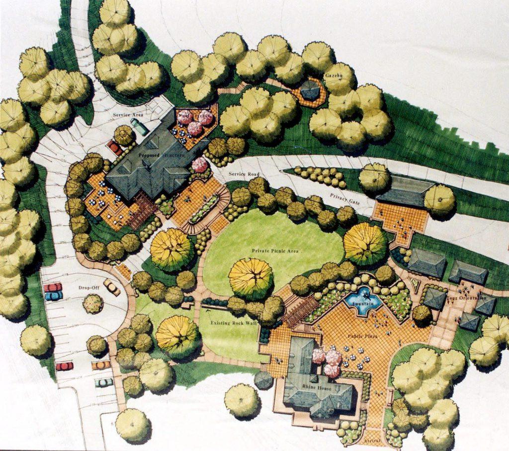 Beringer Vineyards Architectural Design & Planning Services