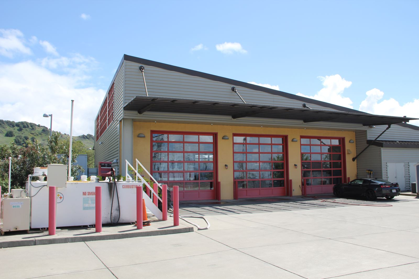 Vallejo Fire Station 7 Structural Design Interactive