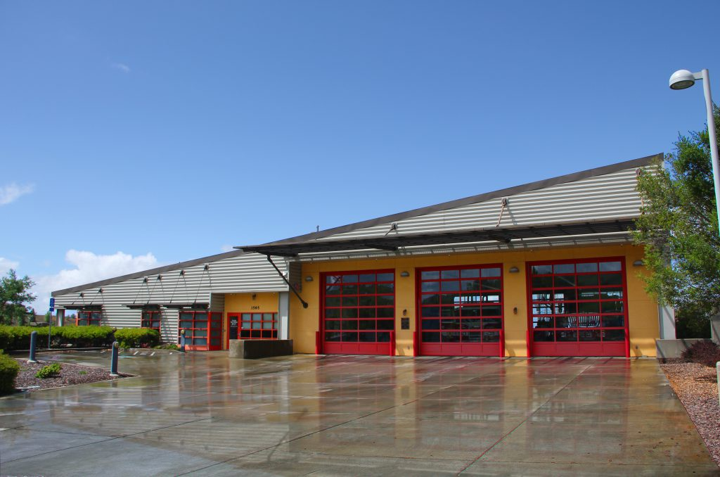 Vallejo Fire Station # 7 Structural Design