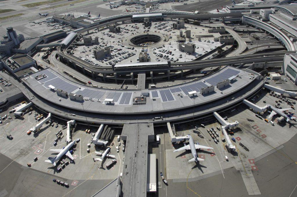 San Francisco International Airport Terminal 3 Solar Array