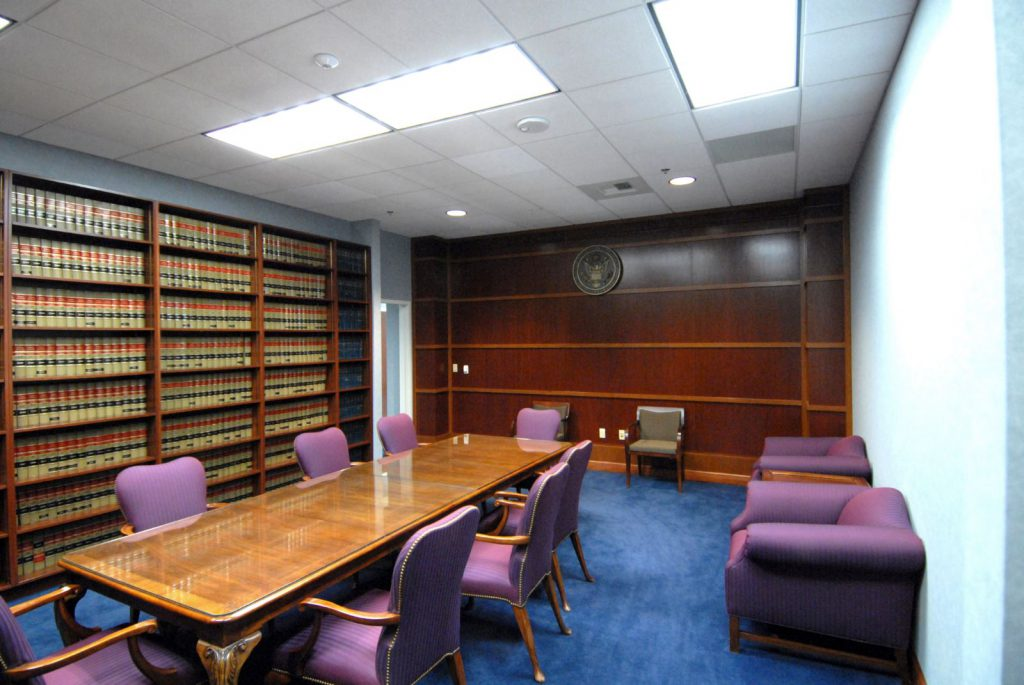 Bruce R. Thompson, U.S. District Court 5th Floor Chambers Remodel