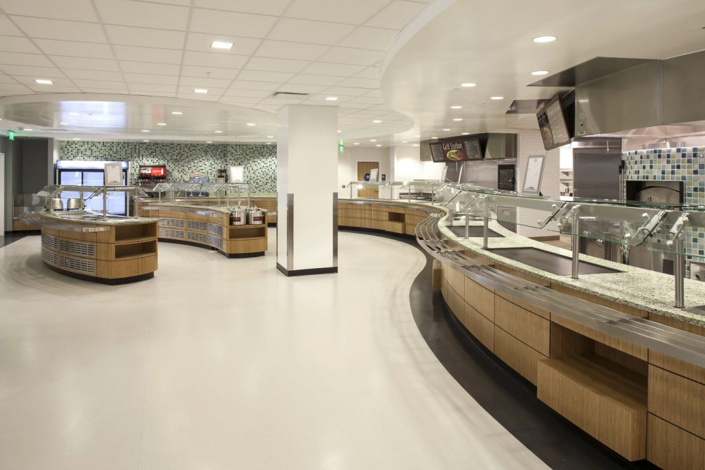 Cafeteria Remodel, Los Angeles Federal Building