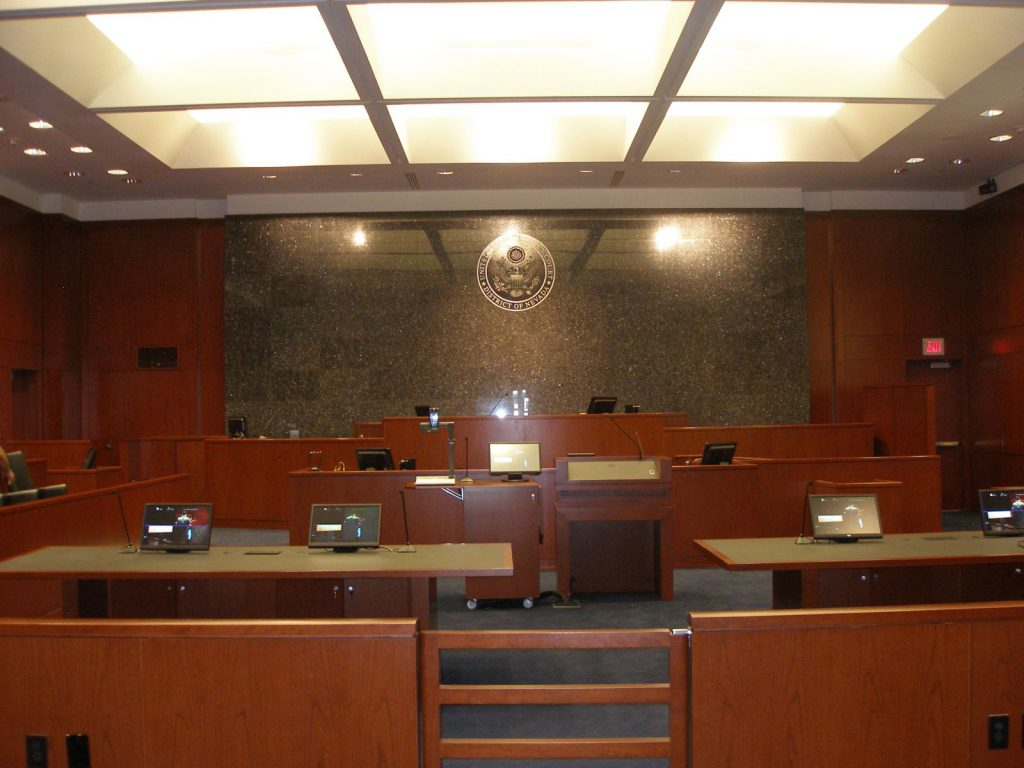 Lloyd D. George U.S. Courthouse: Courtrooms, Jury Deliberation Suites and Cellblock Remodel
