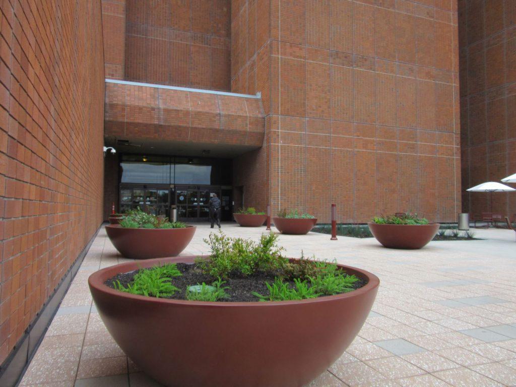 Plaza Design, Frank Hagel Federal Building