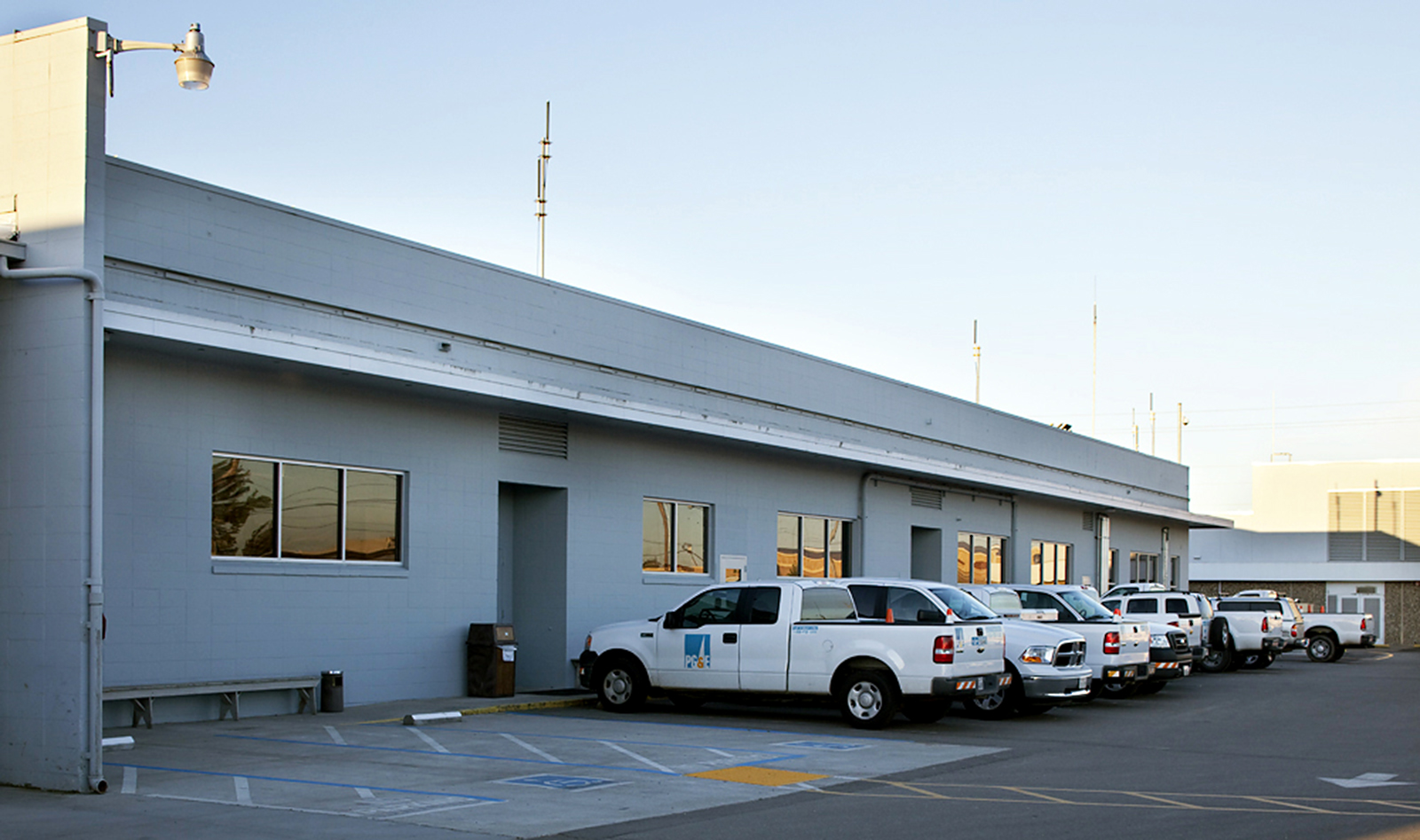 Service Center Building Exterior