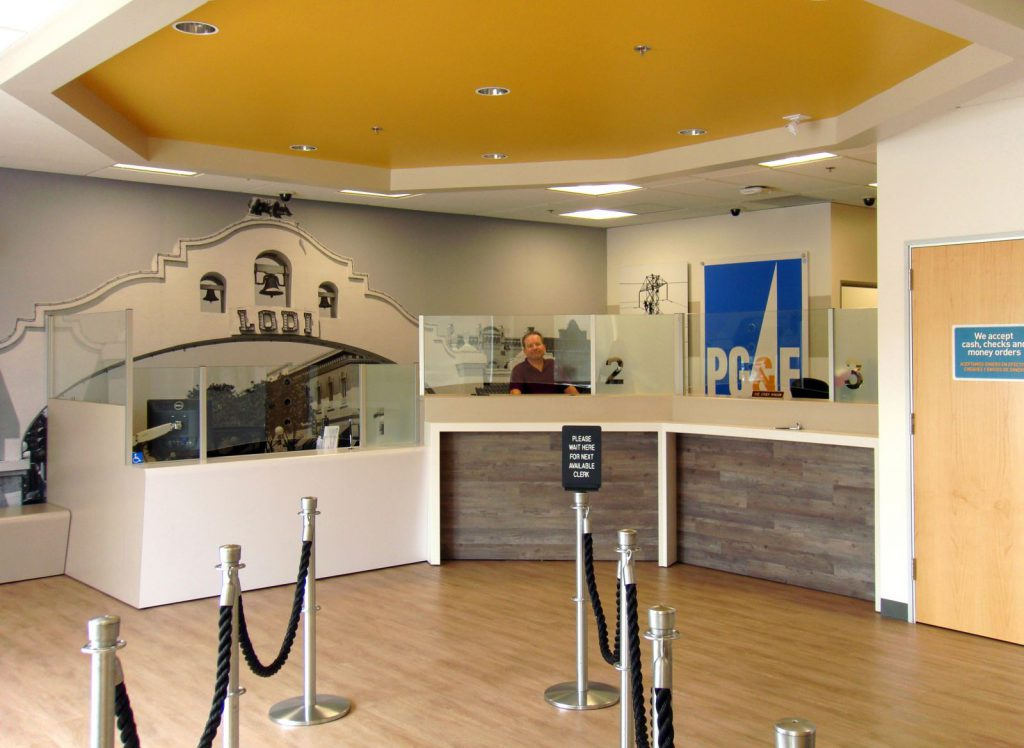 Customer Service Office Remodel, Lodi, CA