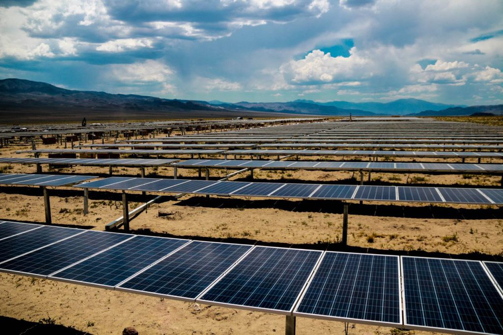 Luning Large Ground-Mount Solar Array