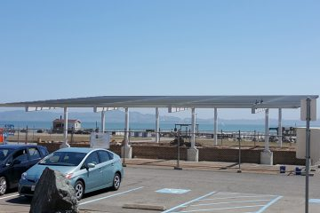 Romberg Solar Canopy, Tiburon, CA, solar array, photovoltaic, renewable energy, Interactive Resources, structural engineering