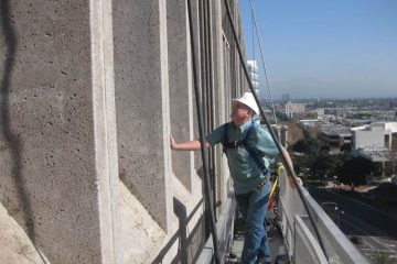 Santa Ana Federal Building Water Intrusion Investigation & Repai, Santa Ana, CA, forensic investigation, water intrusion, building envelope, Interactive Resources