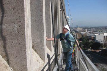 Santa Ana Federal Building Water Intrusion Investigation & Repai, Santa Ana, CA, forensic investigation, water intrusion, building envelope, Interactive Resources