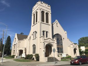 First United Methodist Church Post Earthquake Seismic Retrofit, Napa, CA, historic restoration, Interactive Resources, architectural design