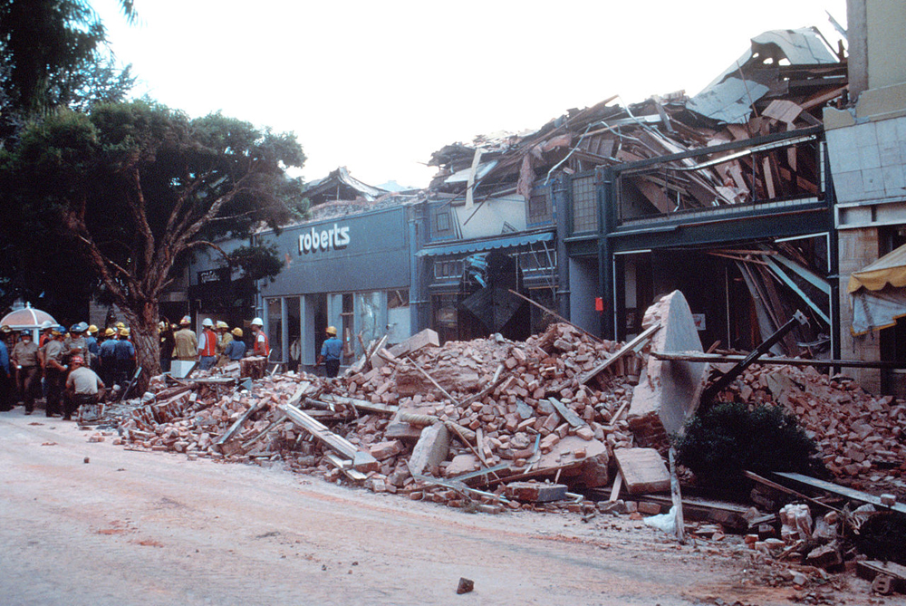 Loma Prieta, California, Earthquake
