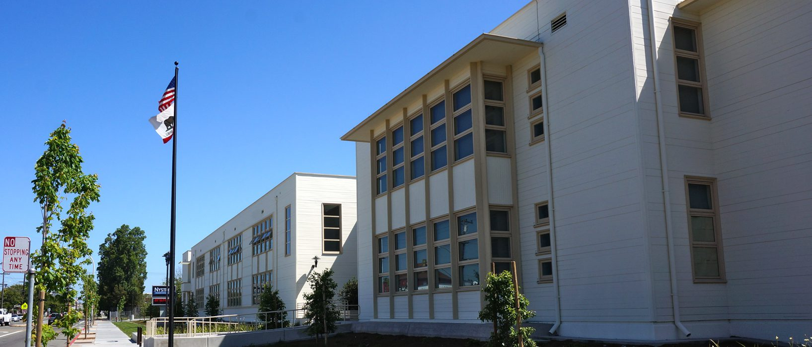 exterior image of a school