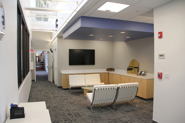 Applied Technology Services Facility, Common Area Remodel, Danville, CA, Interactive Resources, architectural design, space planning, interior design