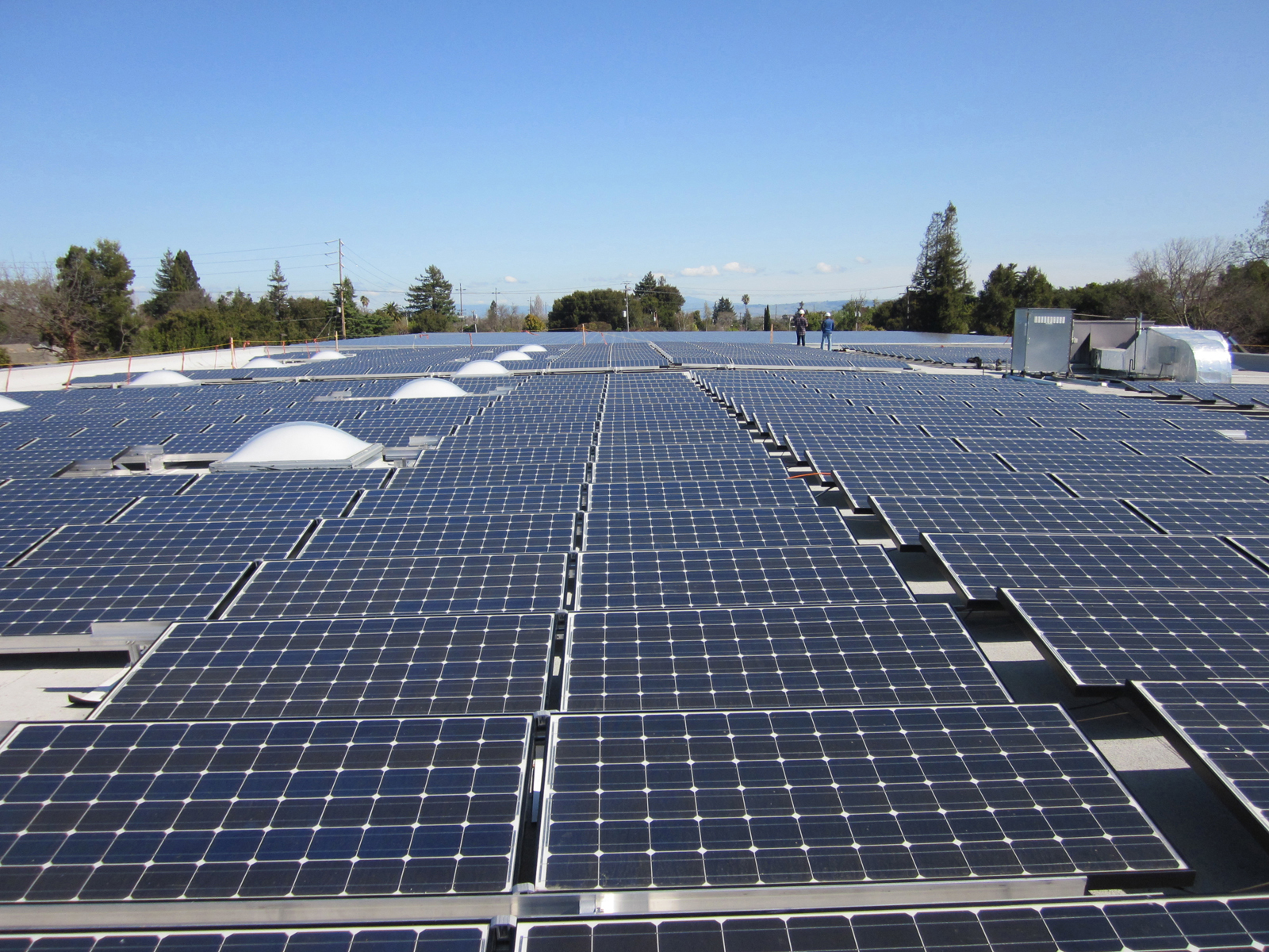 Veterans Affairs (VA) Medical Center Solar Array, Menlo Park, CA, solar array, structural engineering services
