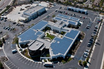 Vista Irrigation District Solar Array, Vista, CA, solar array, photovoltaic, structural engineering services