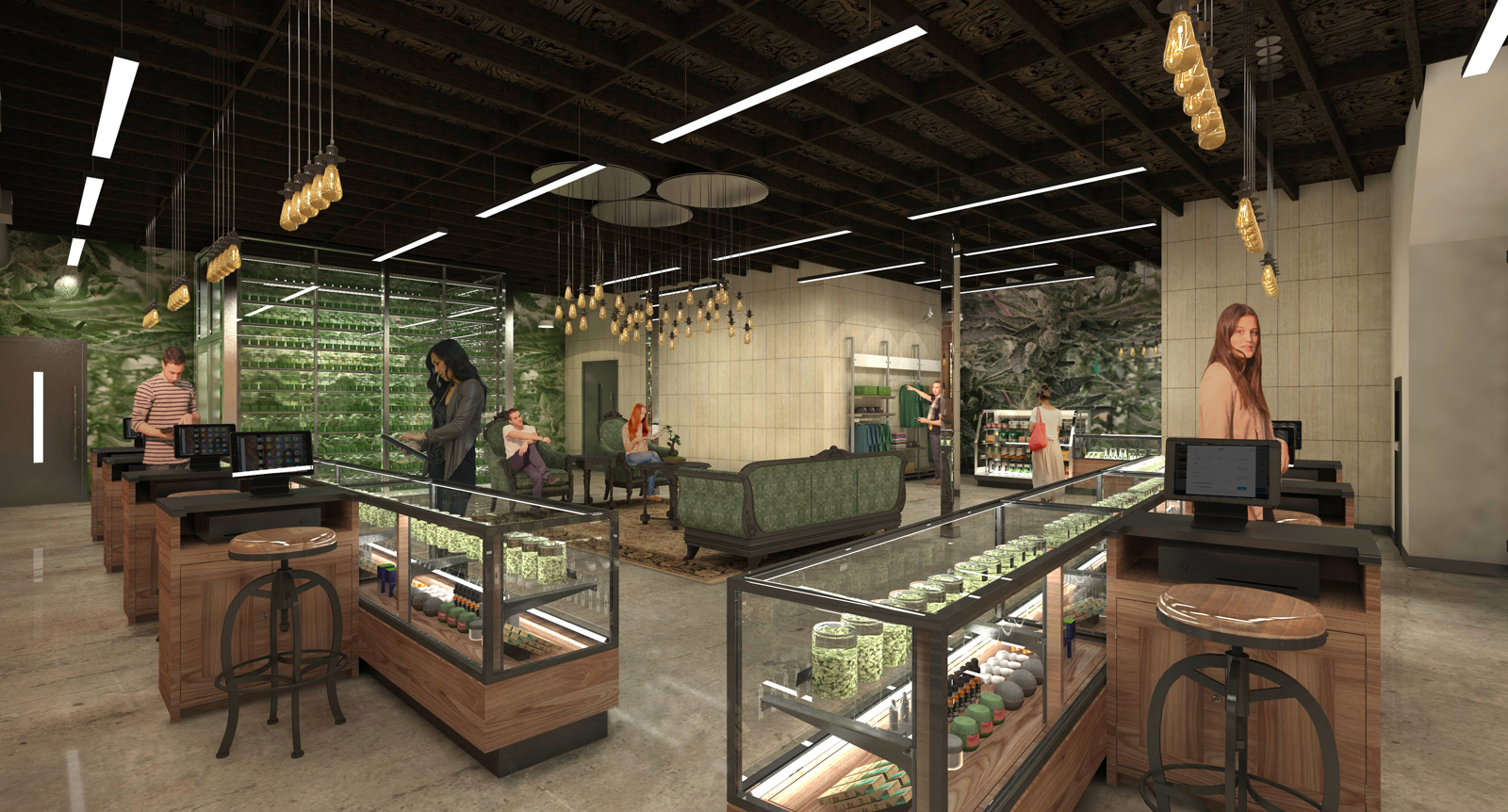 Interior of Dispensary Attribution-NoDerivs CC BY ND