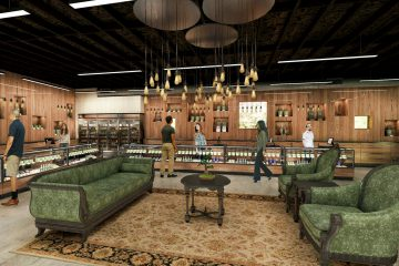 7 Stars Healing Center Interior Rendering