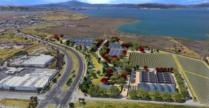 PowerPlant Park, Richmond, CA, planned cannabis agricultural community and campus