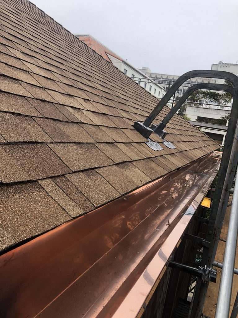 UC Berkeley, Women's Faculty Club Roof Replacement