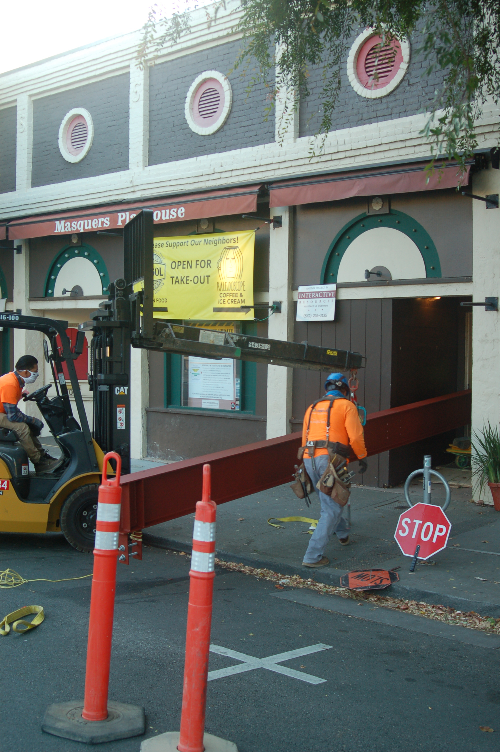 Masquers Playhouse Structural Repairs