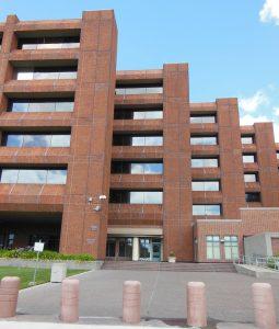 Frank Hagel Federal Building's Emergency Control Center, security design