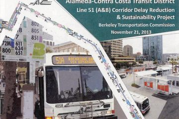 AC Transit Line 51 Corridor Delay Reduction and Sustainability